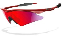 Oakley M Frame Sweep - Chrystal Red - Red Iridium