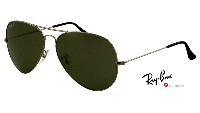 Ray-Ban Aviator large metal 3025 004/58 Polarized