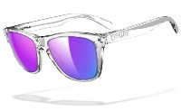 Oakley Frogskins 9013 24-305 Polished Clear - Violet Iridium
