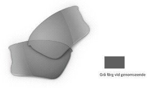 Oakley Flak Jacket Accessory - Black Iridium Polarized