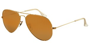 Ray-Ban Aviator large metal 3025 001-57 Polarized Small size