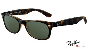 Ray-Ban New Wayfarer 2132 902/58 Polarized Small