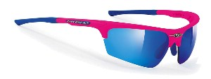 Rudy Project - Noyz Pink Fluo - Multilaser Blue