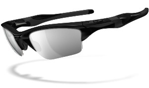 Oakley Half Jacket 2.0 XL 09154-05 Polished Black - Black Iridium Polarized