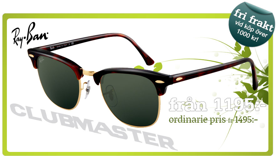 Ray-Ban clubmaster solglasögon - Lenssavers d4561a53d24a0