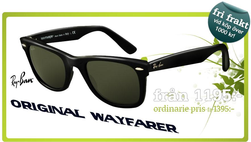 Ray-Ban Original Wayfarer solglasögon - Lenssavers 92012f0fb9fea